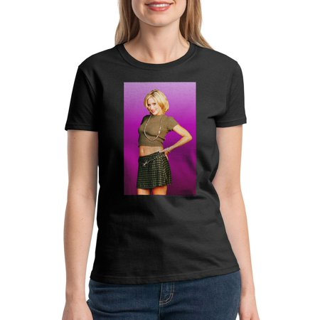 Married With Children Kelly Bundy Women's Black T-shirt NEW Sizes (Was Moses Married To A Black Woman)