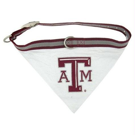 Texas A&M Dog Collar Bandana