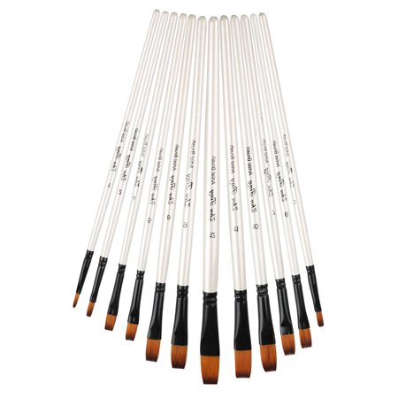 EEEkit Detail Paint Brush Set - 12 Miniature Brushes for Fine Detailing & Art Painting - Acrylic, Watercolor, Gouache, Oil - Models, Airplane Kits, Ink, Warhammer 40k - Artist Quality (Best Acrylic Brush Brand)