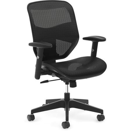 - basyx VL534 Mesh High-Back Task Chair, Black