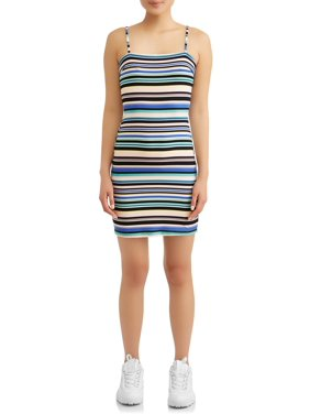 b329f48ea Product Image Juniors' Stripe Dress with Back Tie