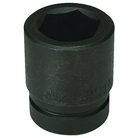 WRIGHT TOOL 8890 1 Dr 2 13 16 Size SAE Impact Socket 6 Pts