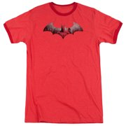 Batman Arkham City DC Comics In The City Adult Ringer T-Shirt Tee