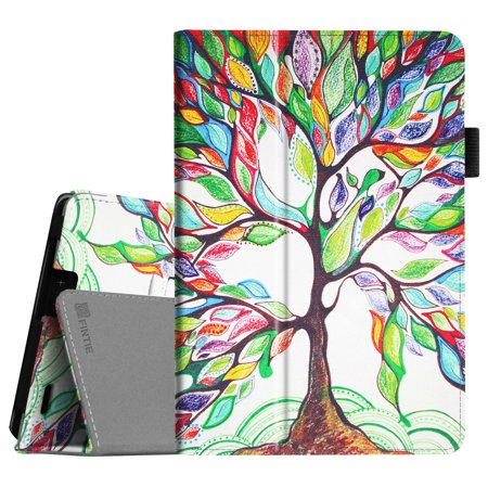 Fintie Folio Case for Kindle Fire HDX 7 2013 Release - Slim Fit PU Leather Standing Cover w/ Auto Sleep/Wake, Love Tree](kindle fire hdx 7 deals)