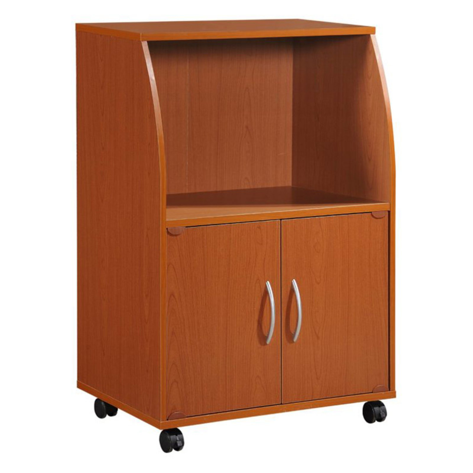 Hodedah 2-Door Microwave Cart