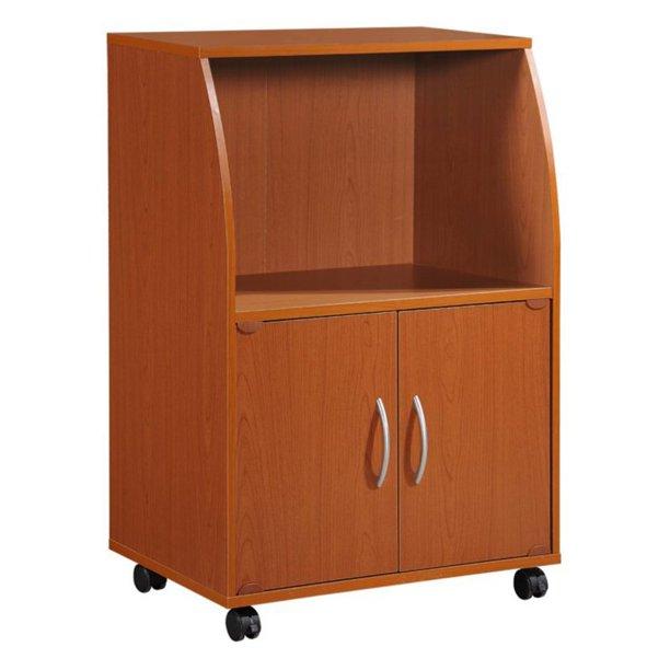 Hodedah 2 Door Microwave Cart