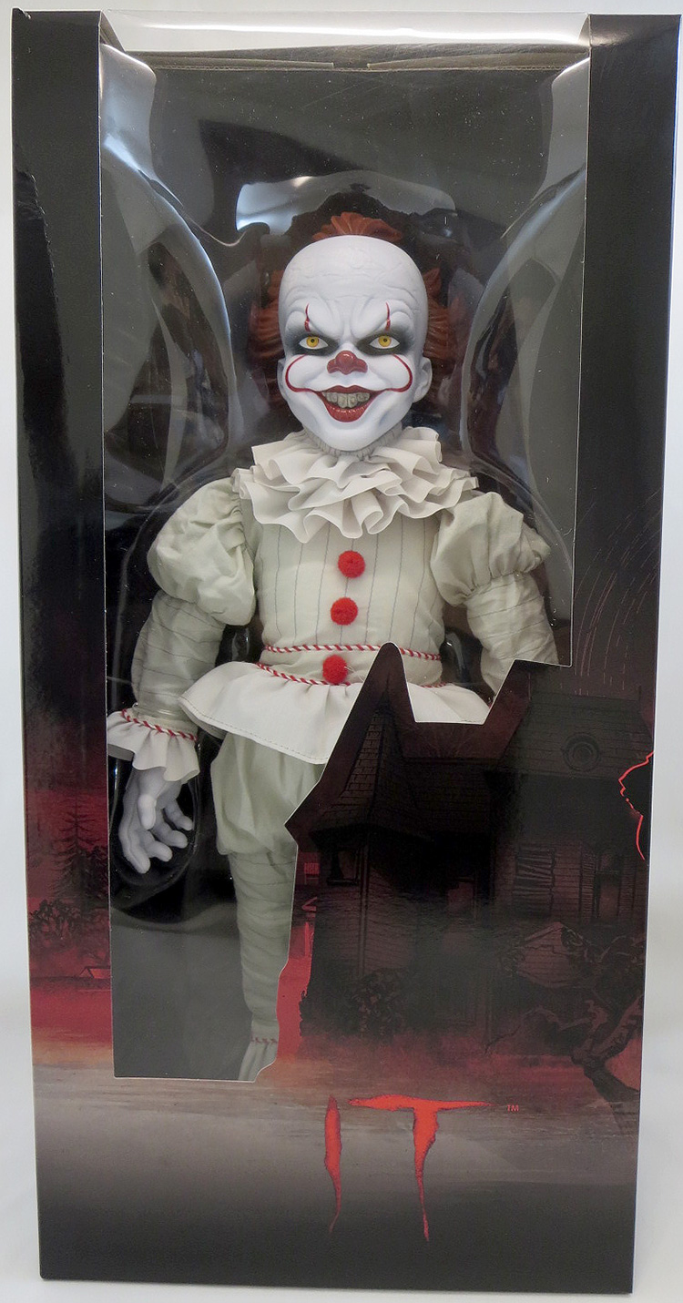 IT 2017 18 Inch Plush Figure Rotocast Plush Pennywise