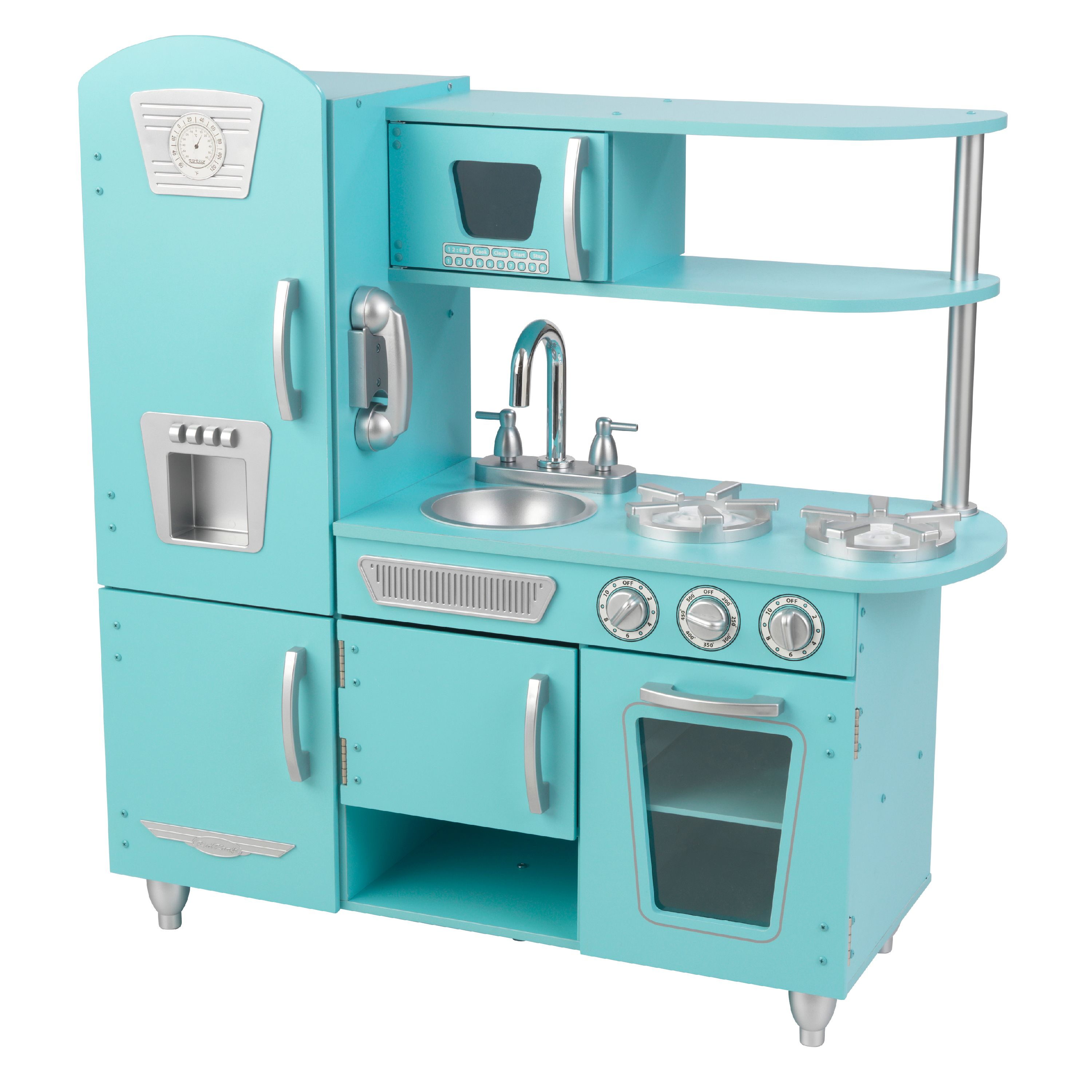 Kidkraft Kitchen kidkraft vintage play kitchen - blue - walmart