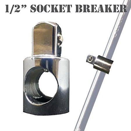 """MTP ® 1/2"""" Socket with Open Cross Breaker Bar Nut (Nut Only, Crossbar not included)"""