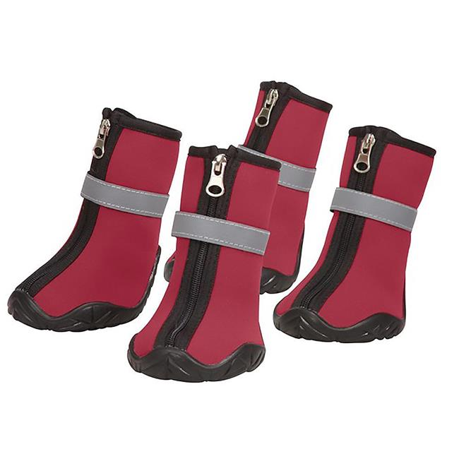 Pet Edge UM1245 10 83 Therma Pet Neoprene Boots, Red - Extra Small - image 1 of 1