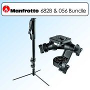 Manfrotto 682B Monopod & 056 3D Junior Head replaces 3025 3D Junior Head