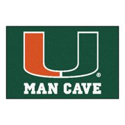 "Miami Man Cave Starter Rug 19""x30"""