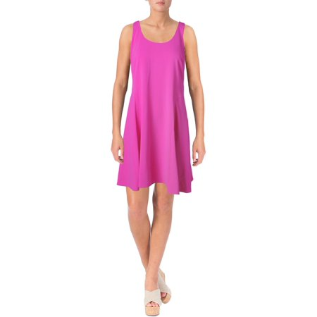 Jersey Petite Wrap Dress (Lauren Ralph Lauren Womens Petites Matte Jersey Sleeveless Casual Dress)