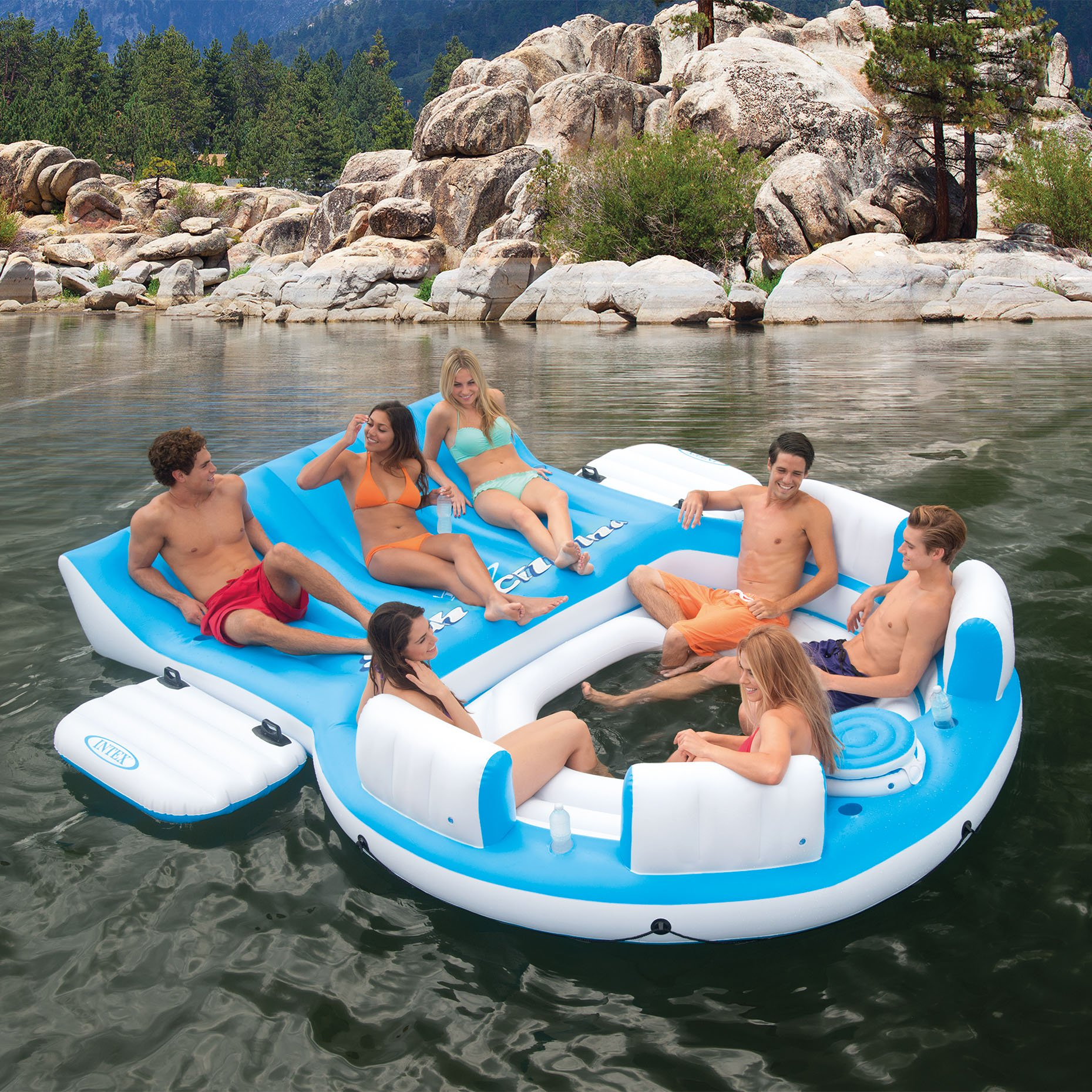 Intex Island Lounge Raft ONLY.