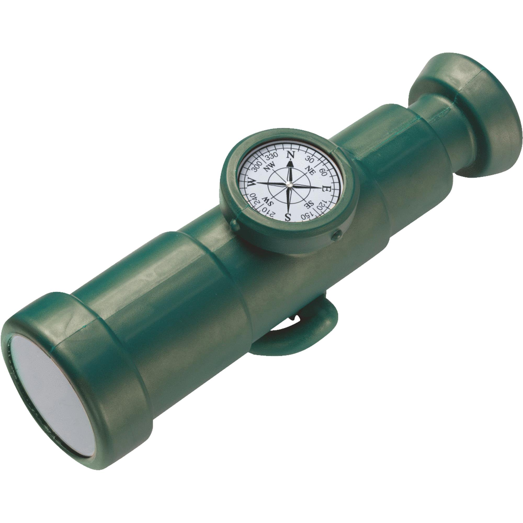 Swing-N-Slide Non-magnifying Telescope With Compass