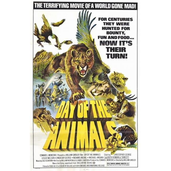 Posterazzi MOV209261 Day of the Animals Movie Poster - 11 x 17 in. - image 1 of 1