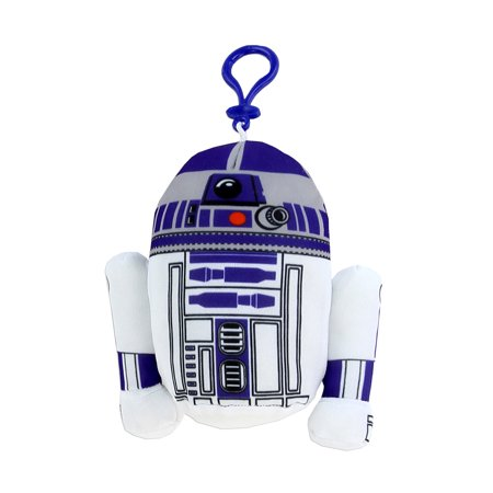 Novelty Character Travel Bag Accessories Disney Star Wars R2d2 Plush Coin Clip