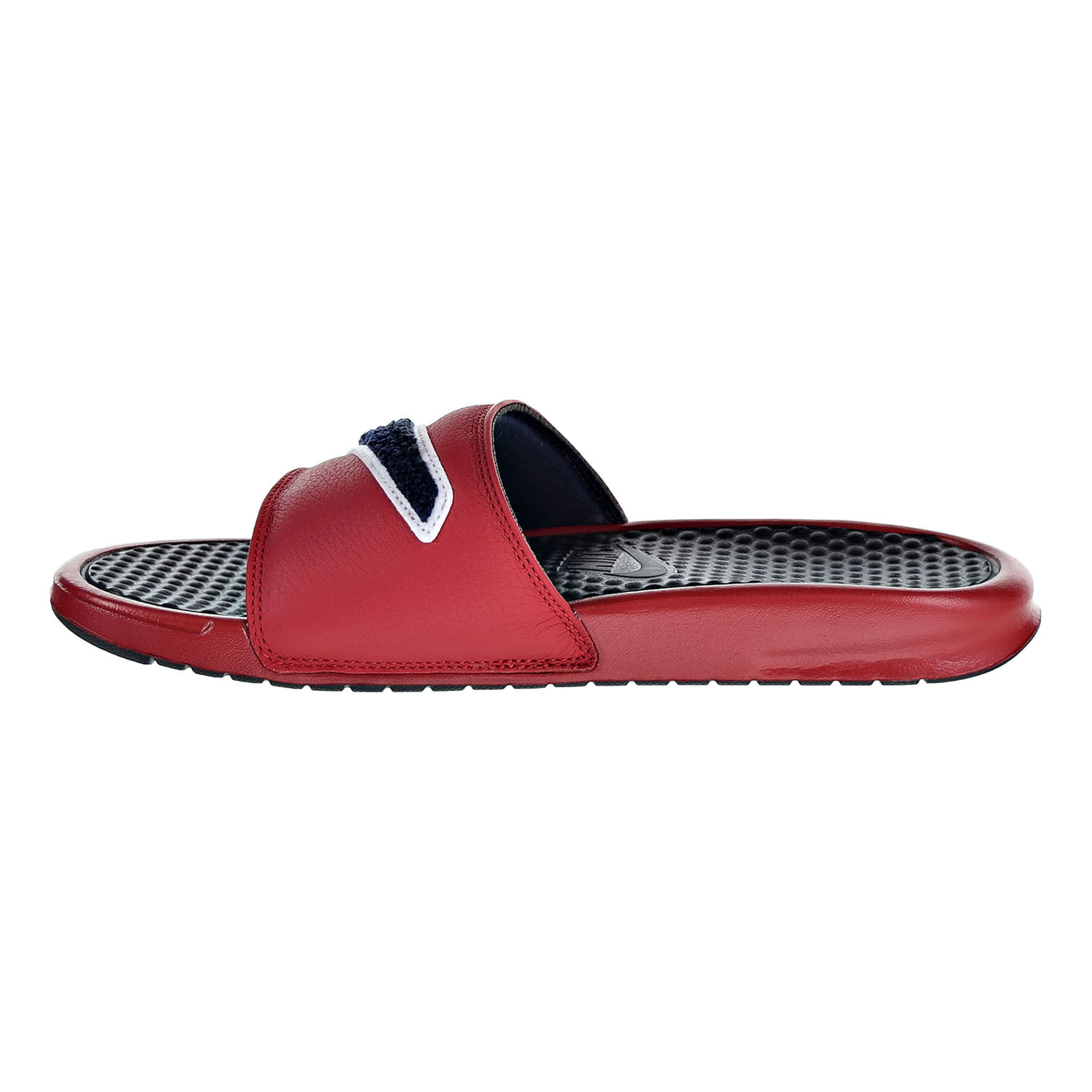 Nike Benassi JDI Chenille Men's Slide Gym Red/Obsidian/White ao2805-600