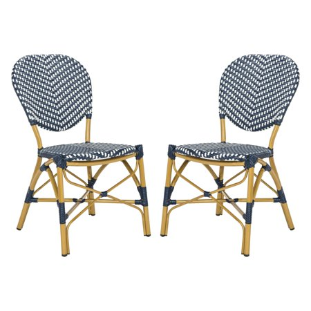 Safavieh Lisbeth Outdoor French Bistro Stacking Side Chair Set Of 2