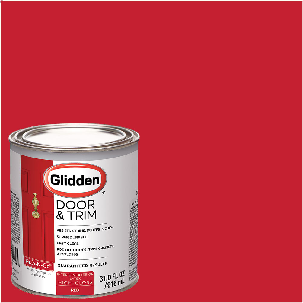 Charmant Glidden Door U0026 Trim Paint, Grab N Go, High Gloss Finish, 1 Quart    Walmart.com
