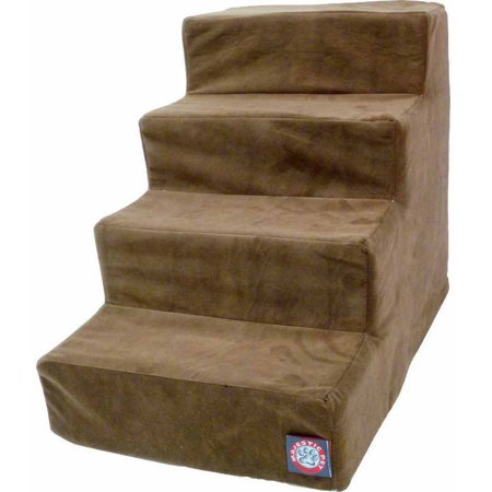 Majestic Materials - Majestic Pet Products 4 Step Suede Pet Stairs