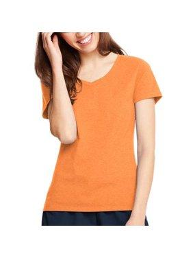 Hanes Women's X-temp Short Sleeve V-neck T-Shirt