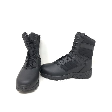 Mens 7 Inch Side Zipper - Corcoran CV5000 Men's 8 inch Non-Metallic Tactical Boots with Side Zipper - Black