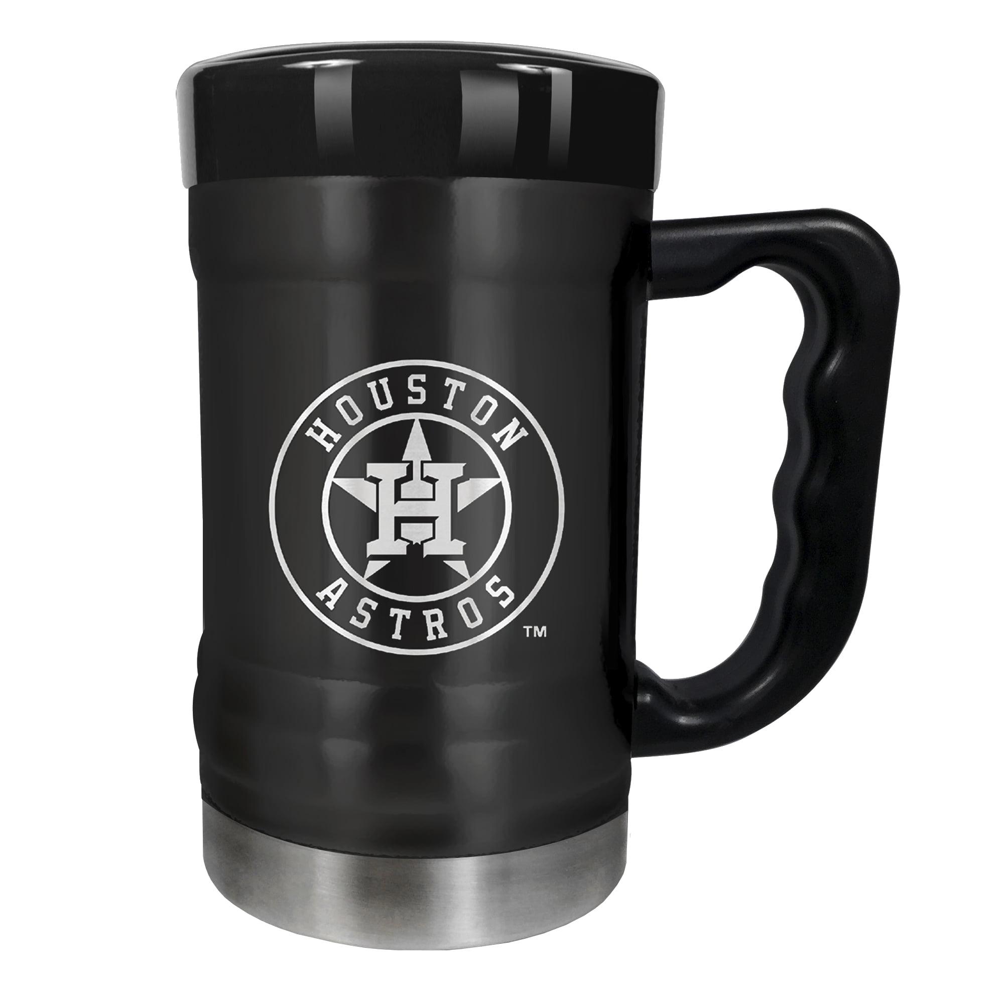 Houston Astros 15oz. Stealth Coach Coffee Mug - Black - No Size
