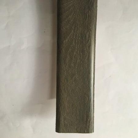 Dekorman Laminate T-Molding(#TM9403C) for: Wood Ash Oak laminate flooring(#9403C). 7.875 ft length x 1.75