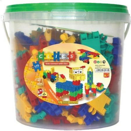 Clics 175 Piece Bucket
