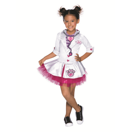 Barbie Pet Vet Costume Medium - Vet Costumes