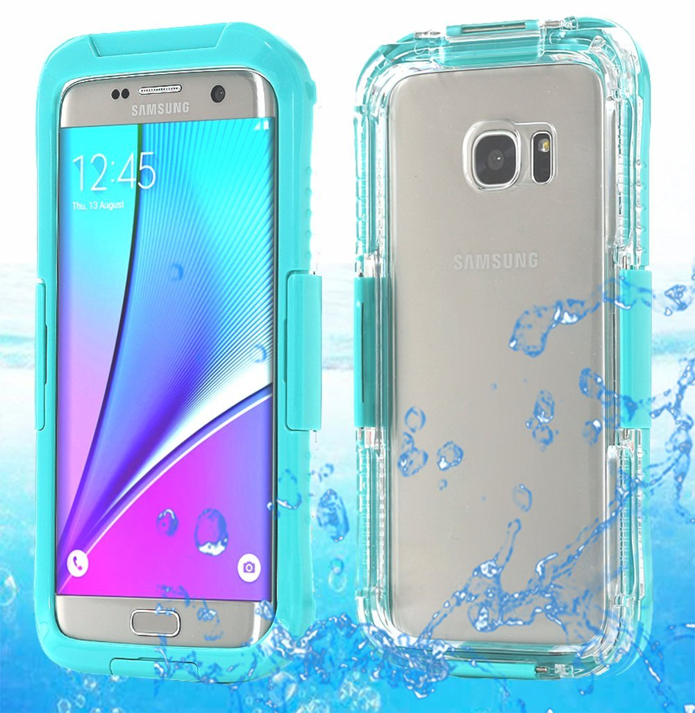 be532c43ae2 For Samsung Galaxy s7 edge Waterproof Shockproof Life Cover Case