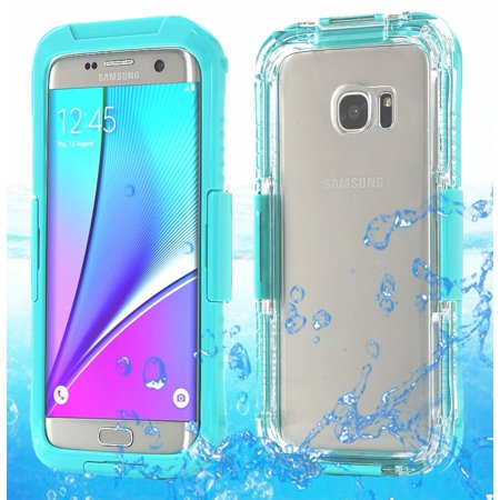 for samsung galaxy s7 edge waterproof shockproof life cover case. Black Bedroom Furniture Sets. Home Design Ideas