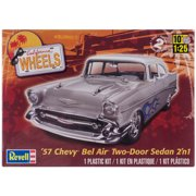 Plastic Model Kit-'57 Chevy Bel Air Two Door 2-In-1 1:25