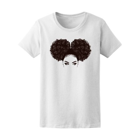 Beautiful Black Woman Afro Women's Tee - Image by Shutterstock - Beautiful Cherokee Woman