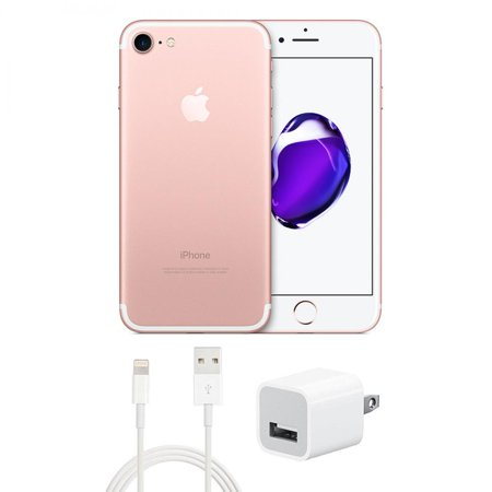 Refurbished Apple iPhone 7 128GB GSM Unlocked Rose Gold (Good