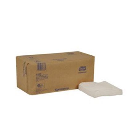 Tork DX600 CPC Advanced Xpressnap Cafe Interfold Dispenser Napkin, White - Case of 6000