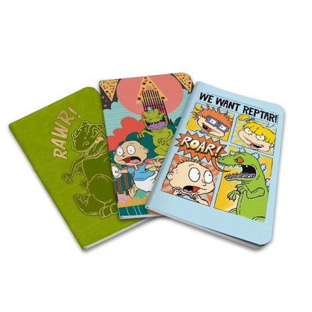 Rugrats Pocket Notebook Collection (Set of 3) - Rugrats Decorations