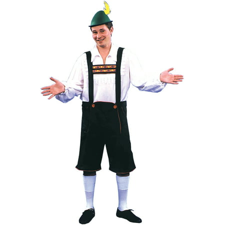 Lederhosen Adult Halloween Costume - Halloween Lederhosen Costume