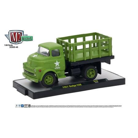 Russian Army Truck (M2 Machines Auto Trucks 1:64 1957 Dodge COE Army Truck Release 48)