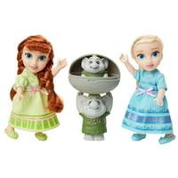 Disney Frozen Petite Princess Anna and Elsa includes Surprise Trolls