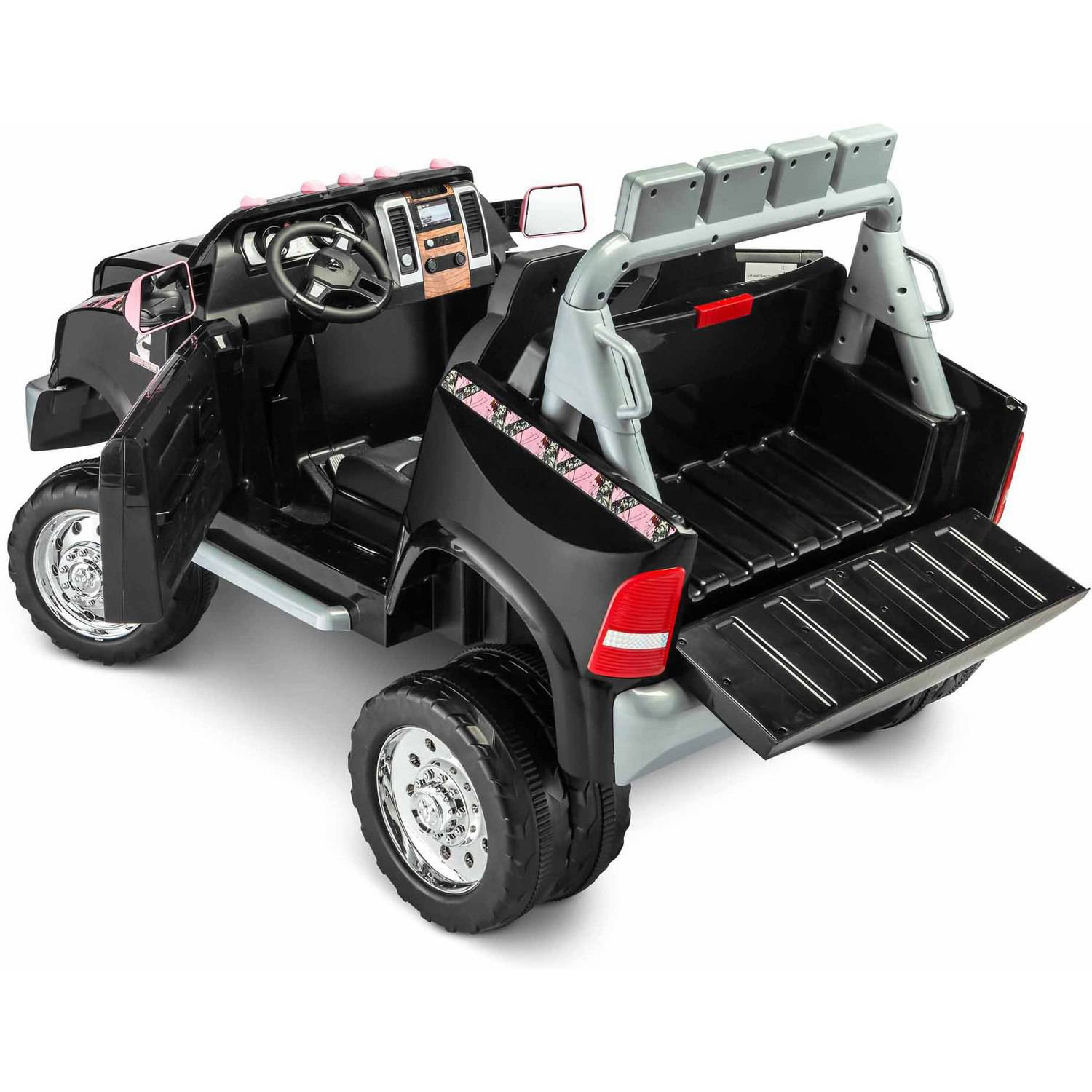 kidtrax ram 3500 dually longhorn edition 12 volt battery. Black Bedroom Furniture Sets. Home Design Ideas