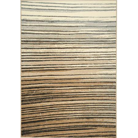 10 Inch Rally Stripes - Kalora Casa Gradient Stripes Rug-3770/275 160230 - (7 foot 10 inch x 10 foot 6 inch)