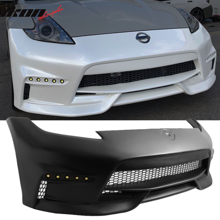 Fits 09-19 Nissan 370Z NS Style Front Bumper Cover Conversion Unpainted - Nissan Altima Bumper Cover