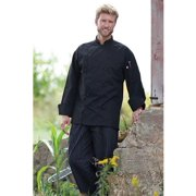 0439-0110 Legato Chef Coat in Black - 6XLarge
