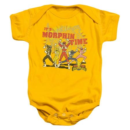 Power Ranger Bodysuit (Power Rangers - Morphin Time - Infant Snapsuit - 24)