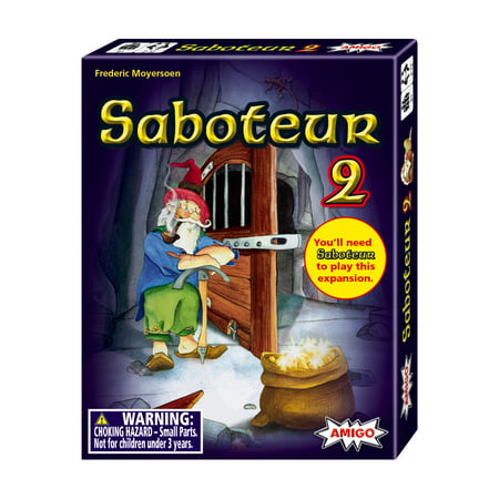 Saboteur 2 Expansion Pack Strategy Card Game