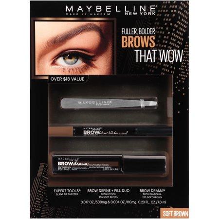 b94ab5470f3 Maybelline Eyestudio Brow Drama Pomade Crayon 255 Soft Brown 0.04oz ...