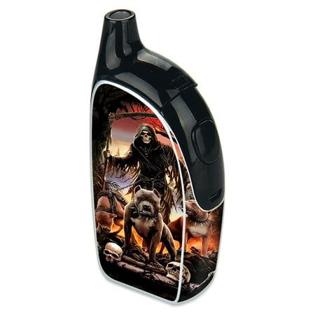 Skin Decal For Joyetech Autopack Penguin Vape   Grim Reaper Pitbull Skulls