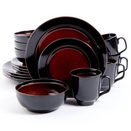 gibson studio villa mosa 16 piece dinnerware set round